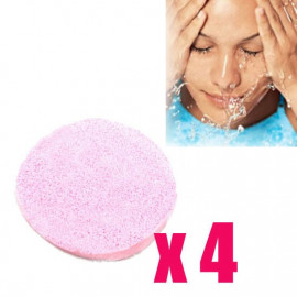 4x Cleansing PVA Sponge