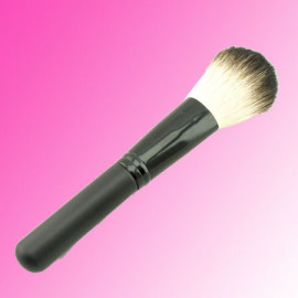 Cosmetic Blush Powder Brush (Long) (Black)