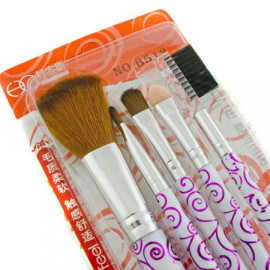 5in1 Cosmetic Brush Set (PURPLE N2)