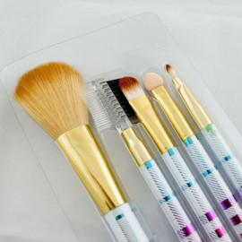 5in1 Cosmetic Brush Set (Medium) (COLOR)