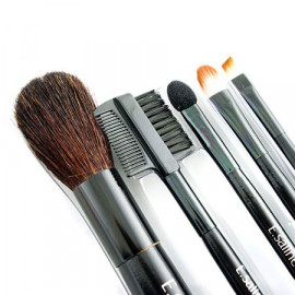 5in1 Cosmetic Brush Set (Small) (BLACK)