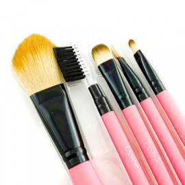 5in1 Cosmetic Brush Set (Small) (PINK)