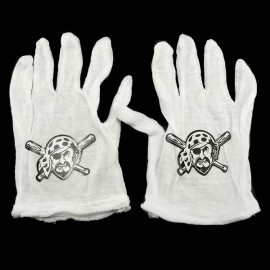 Pair of Pirate White Gloves Toddlers Children Fancy Dress Costume