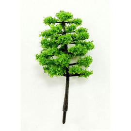 Lot 10 Green Tree Scale Scene Train RR Model HO Parts