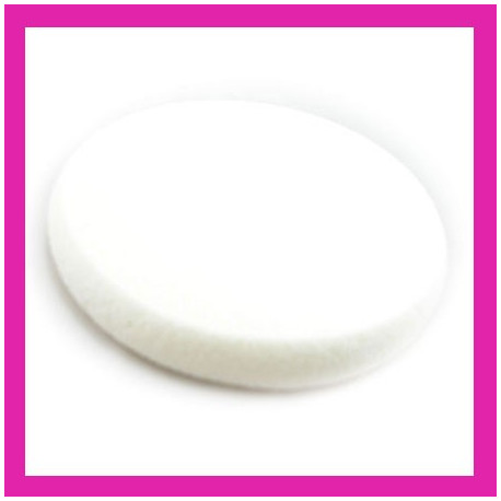 Makeup Cosmetic Latex Sponge Large Round White