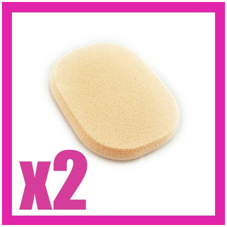 2x Makeup Cosmetic Latex Sponge Oval