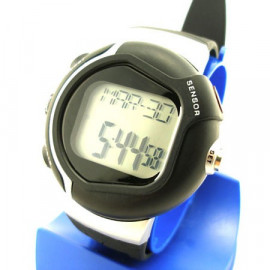 Digital Heart Rate and Calories Counter Watch 0925 (BLACK)