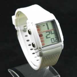 OTS Digital Sports Watch 381 White Display Ladies' (WHITE)