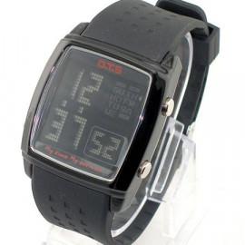 OTS Digital Sports Watch 6336 Black Display (BLACK)