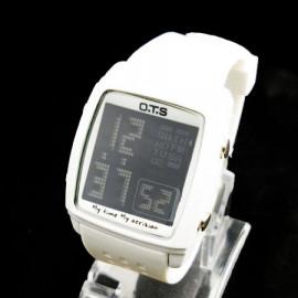 OTS Digital Sports Watch 6336 Black Display (WHITE)