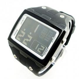 OTS Digital Sports Watch 6337 Black Display (BLACK)