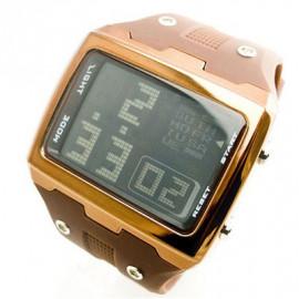OTS Digital Sports Watch 6337 Black Display (BROWN)