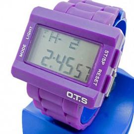 OTS Digital Sports Watch (6220) (PURPLE)