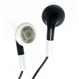 Black Earbuds 3.5mm Earphones for Apple iPod Shuffle