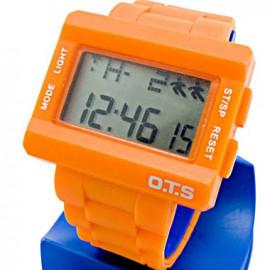 OTS Digital Sports Watch (6220) (ORANGE)