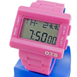 OTS Digital Sports Watch (6220) (PINK)