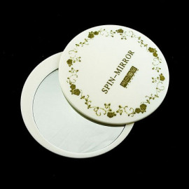 Cosmetic Rotating Mirror (WHITE)