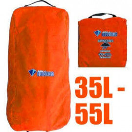 BlueField Backpack Rain Cover N090112 (35L to 55L) ORANGE RED