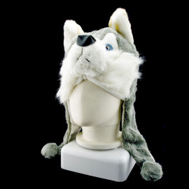 Timberwolves Wolf Funny Mascot New Costume Mask Fur Hat Cap