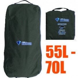 BlueField Backpack Rain Cover N090111 (55L to 70L) DARK GREEN