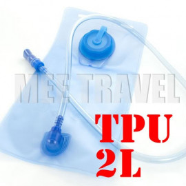 2L TPU Hydration Bladder Bag (BLUE)