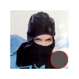 Thermal Fleece Head & Face Ski Mask Balaclava Helmet (GRAY)