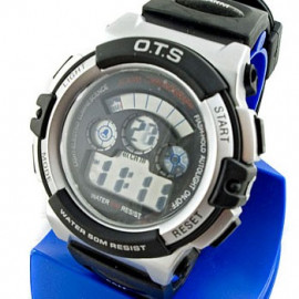 Digital Sports Men's Watch (833) (BLACK)