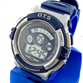 Digital Sports Men's Watch (833) (BLUE)
