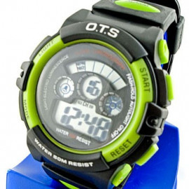 Digital Sports Men's Watch (833) (GREEN)