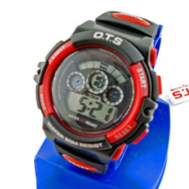 Digital Sports Ladies' Kids' Watch (833) (RED)