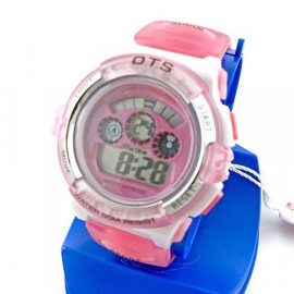 Digital Sports Ladies' Kids' Watch (833) (PINK)