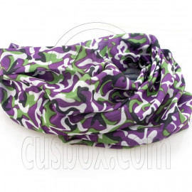 Purple Skiing New Cycling Hiking Bandana Bandanna Scarf