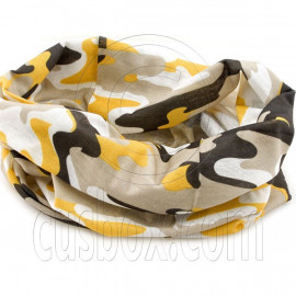Brown Camouflage Cycling Hiking Bandana Bandanna Scarf