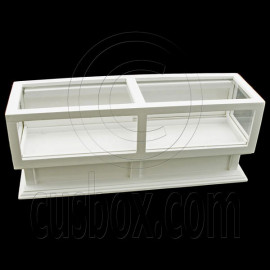 White Store Jewellry Display Dollhouse Furniture