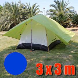 Tarp Tarpaulin Tent Shelter Heavy Duty L (ROYAL BLUE)