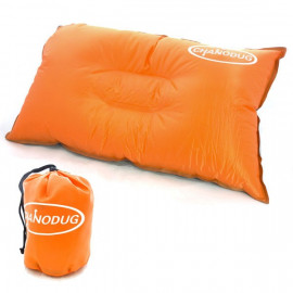 Self Inflatable Pillow (Large) (ORANGE)