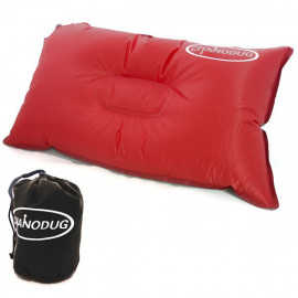 Self Inflatable Pillow (Large) (RED)