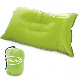 Self Inflatable Pillow (Large) (YELLOWISH GREEN)