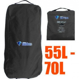 BlueField Backpack Rain Cover N090111 (55L to 70L) BLACK