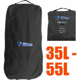 BlueField Backpack Rain Cover N090112 (35L to 55L) BLACK