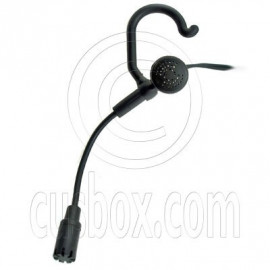 3.5mm Flexable Mic Microphone Earphone w Hook for iPad