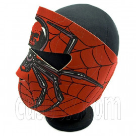 Red Spider Spiderman Neoprene Full Face Mask Biker Motorcycle
