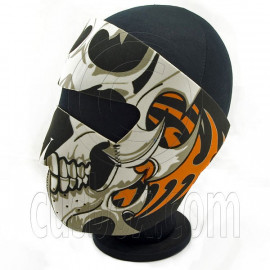 Skull Skeleton Neoprene Full Face Mask Biker Motorcycle