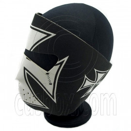 Crusader Cross Neoprene Full Face Mask Biker Motorcycle