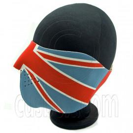 UK Flag Union Jack Neoprene Half Face Mask Motorcycles