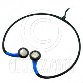 Dark Blue Lightweight 3.5mm Sport Neckband Headphone