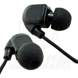 Black 3.5mm In-Ear Over The Ear Headphones for Apple iPod