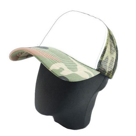 Plain Mesh Ball Cap (CAMO)
