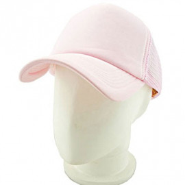 Plain Mesh Ball Cap (PINK)