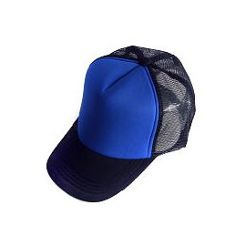 Plain Mesh Ball Cap (ROYAL BLUE BLACK)